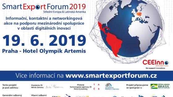 Smart Export Fórum 2019 propojí české inovativní firmy s jejich latinskoamerickými protějšky