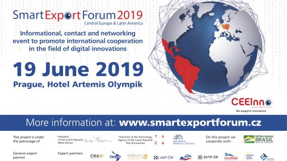 Smart Export Forum 2019 will connect Czech innovative companies with their Latin American counterparts